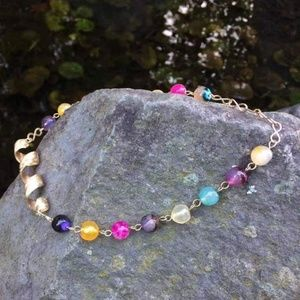 The ONE & ONLY Super Gemstone Twister Necklace